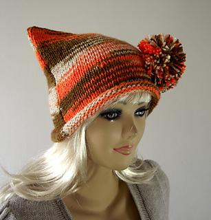 Ravelry  Arlequina Hat pattern by Lilia Vanini 8e1a96c181d5