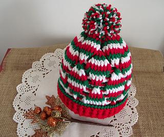 1c57fdd2192 Ravelry  Christmas Baby Hat pattern by Lilia Vanini