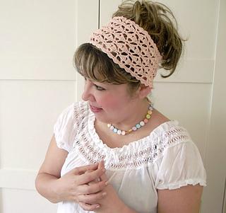 Ravelry  Christy Headband pattern by Lilia Vanini 0e9c11c42831