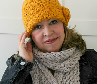 Ravelry  Jazmin Hat pattern by Lilia Vanini d025cf877f14