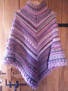 Ravelry Secret Paths And Hidden Daisies Poncho Pattern By Lilinette