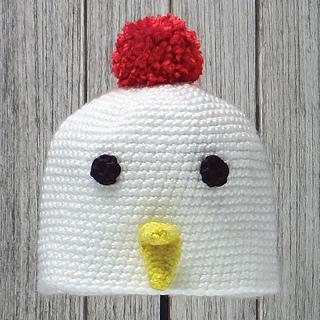 Ravelry  Chicken Hat pattern by Linda Wright - Lindaloo Enterprises fc0585071ed