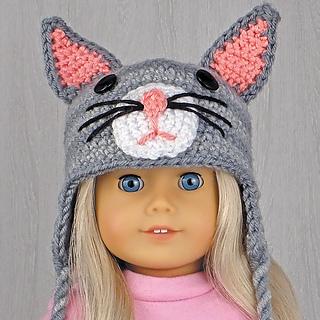 Ravelry  Amigurumi Animal Hats for 18-Inch Dolls  20 Crocheted ... f594a205871