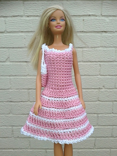 Ravelry Barbies Dress Pattern By Linda Mary