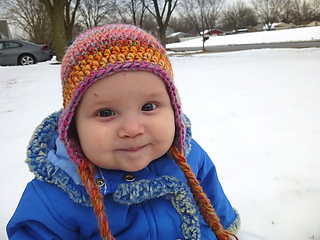 d3090272ba0 Ravelry  Seamless Earflap Hat pattern by Lindsey Carr