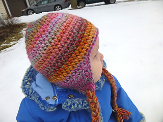 Ravelry  Seamless Earflap Hat pattern by Lindsey Carr b6c0d2910e3