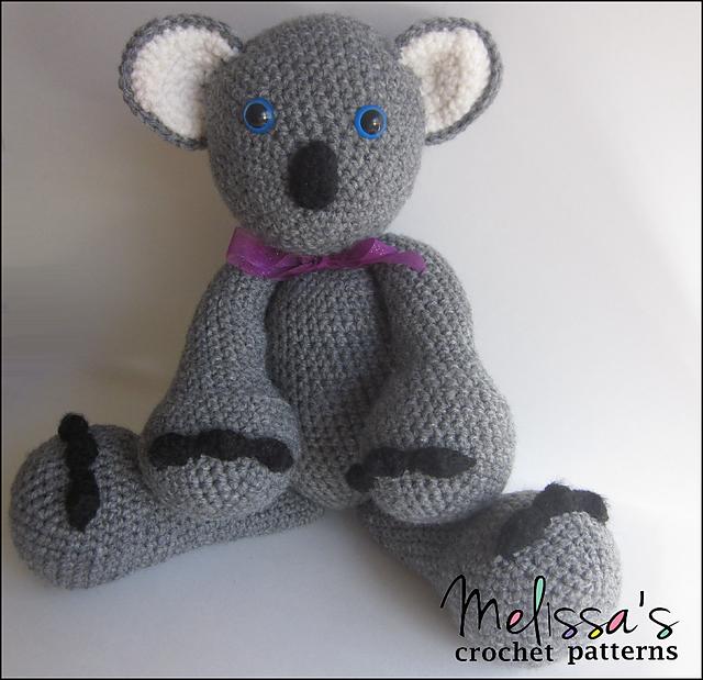 Ravelry The Adorable Koala Bear Pattern By Melissas Crochet Patterns