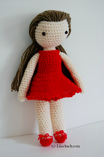 Ravelry Belle Doll Pattern By Lisaauch