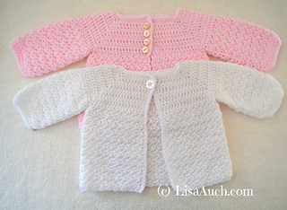 Ravelry Sweet Sugar Babies Cardigan Pattern By Lisaauch