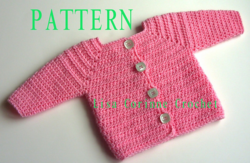 Ravelry Baby Girl Sweater 37 Pattern By Lisa Corinne Crochet