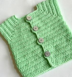 603208454e7 Ravelry  Baby Boy Sweater Vest 42 pattern by Lisa Corinne Crochet