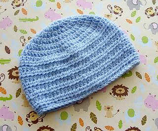 e377d3736f3 Ravelry  Baby Boy Hat hdc 39 pattern by Lisa Corinne Crochet