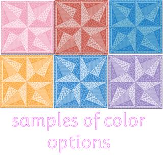 Ravelry Blazing Star Cro Quilt Block Lfc Pattern By Lissa
