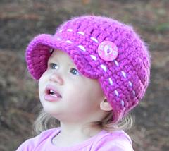 Ravelry  Super Cute Baby Cap pattern by Jenna Black fe0797eb464