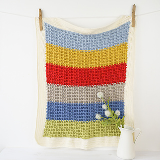 Ravelry: Paddy Baby Blanket Pattern By Little Doolally