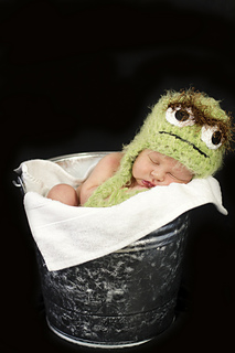 0bd247f6acb Ravelry  Oscar the Grouch hat pattern by Jennifer Barrientos