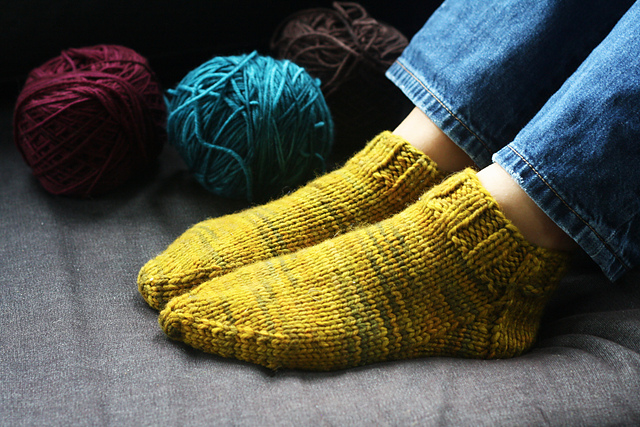 Ravelry Slipper Socks Pattern By Veronica Van