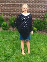 Dancing_shells_poncho_crochet_pattern_for_girls_in_black_small