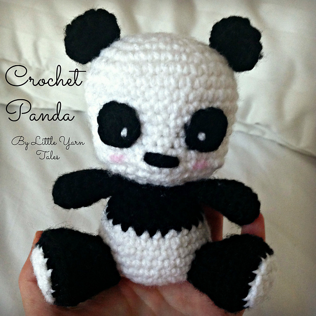 Ravelry Crochet Panda Pattern By Elysia Mcwatters