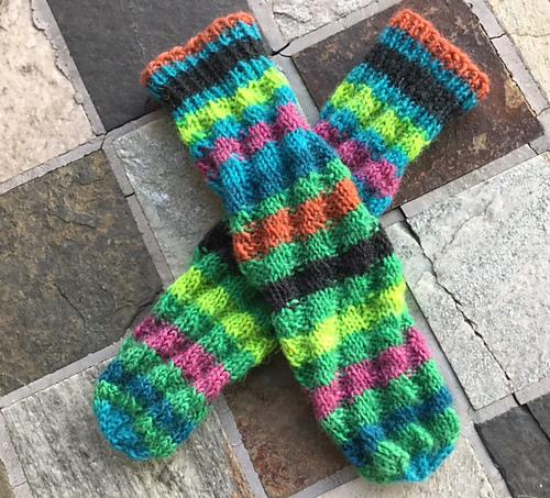 Ravelry Spiral Tube Socks Pattern By Joan Janes