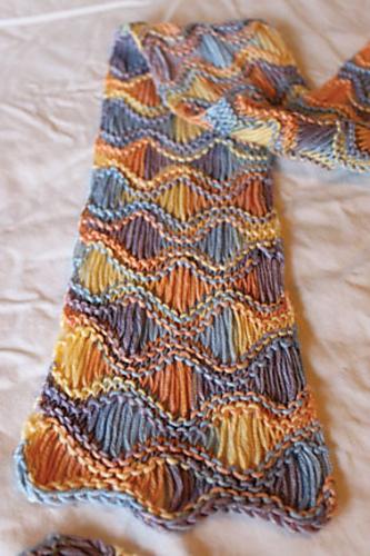 seafoam scarf