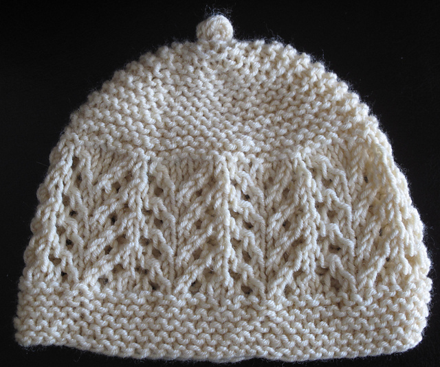Ravelry Gull Lace Baby Hat Pattern By Joan Janes