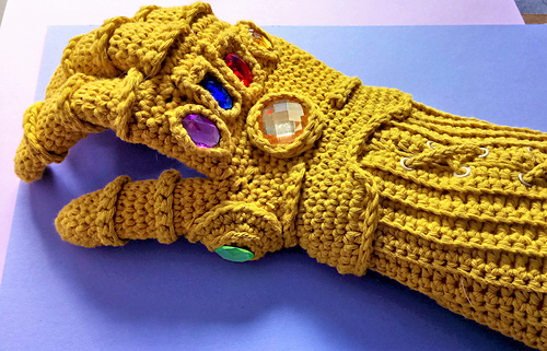 ravelry infinity gauntlet pattern by liz ward