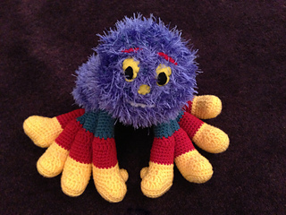 Knitting Pattern For Woolly The Spider : Ravelry: Woolly & Tig Spider pattern by Samantha Evans