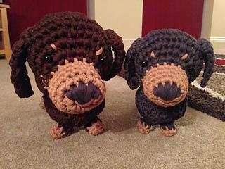 Free Amigurumi Dachshund Pattern : Ravelry boodles dachshund pattern by laura sutcliffe