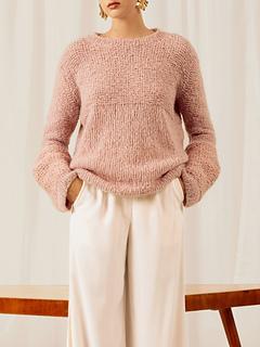 outlet store 93aa3 3b0d2 Ravelry: Pullover mit weiten Armabschlüssen pattern by ...