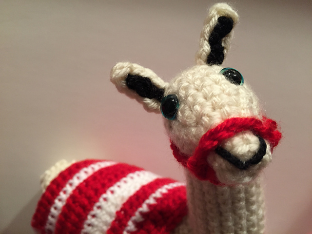 Indie Design Gift Along 2018 Toys Llama to crochet