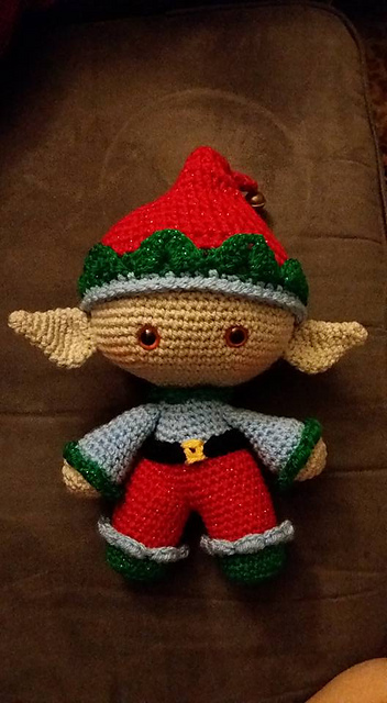 Ravelry Weebee Doll Elf Hat Pattern By Laura Tegg