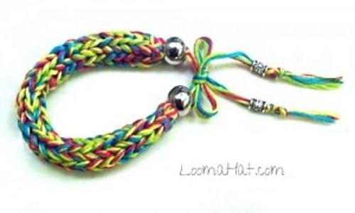Ravelry Loom Knit Friendship Bracelet Pattern By Denise Canela