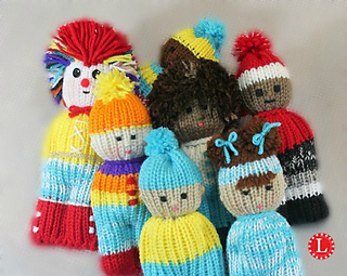 Ravelry: Loom Knit Comfort Dolls pattern by Denise Canela