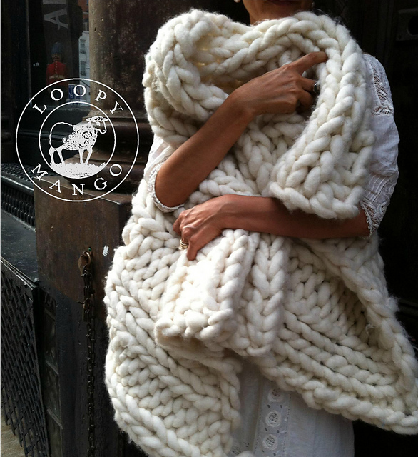 f36ad8e5d Ravelry  Nantucket Throw pattern by Loopy Mango