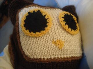 Ravelry  Lil  Hoot Owl Hat pattern by Lora Banks 519a7fbf6cc