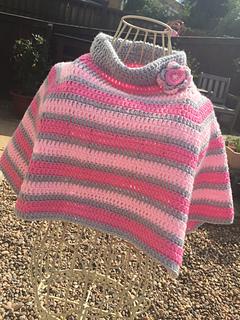 Ravelry: Little Girl Poncho pattern by Vicky Coleman