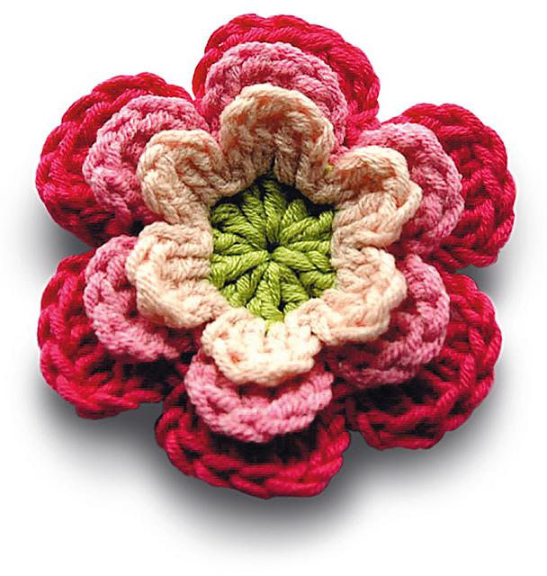 Ravelry Flowers Pattern By Carmen Heffernan