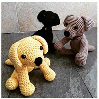 Ravelry: Crochet Labrador pattern by Lucy Kate