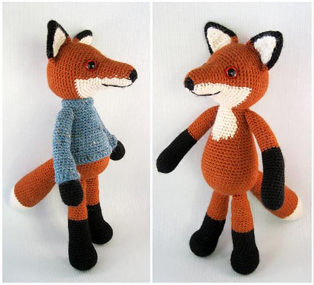 Ravelry Bracken The Fox Amigurumi Pattern By Lucy Collin