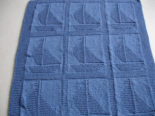Ravelry Come Sail Away Baby Blanket Pattern By Suzanne Veta