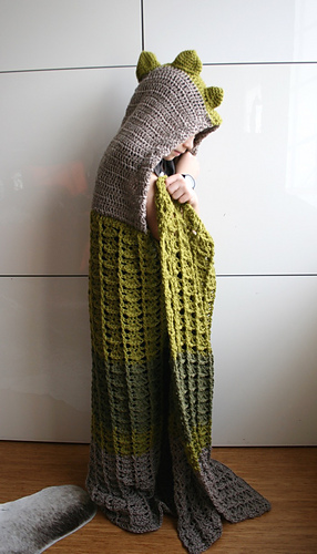 Ravelry Dinosaur Blanket 257 Pattern By Luz Mendoza