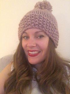 Ravelry  Big Wool Hat pattern by Lynsey Hall 4de40396a1b
