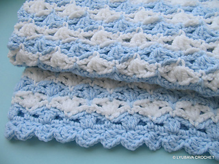 Ravelry Chunky Baby Blanket Its A Boy Pattern By Lyubava Crochet