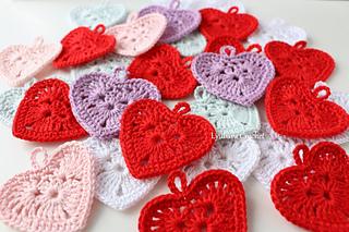 Ravelry Small Crochet Heart Pattern By Lyubava Crochet