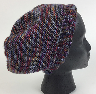 489802edc22 Ravelry  Reversible Cable Brimmed Hat pattern by Mary Beth Temple