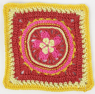9551733a46f Ravelry  Lemon Zinger Square pattern by Mary Beth Temple