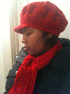 Ravelry  Newsboy hat pattern by Marcelle s Creative Crochet 1c9a7a12fe2