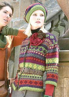 verena knitting - Fair Isle Muster