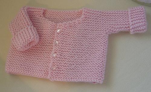 Ravelry: French Garter Stitch Baby Cardigan pattern by ...